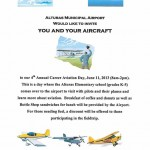 Alturas, CA (KAAT) Aviation Career Day – June 11, 2013
