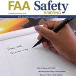 The Nov/Dec Issue of FAA Safety Briefing Magazine is Available.