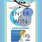 Chance to Win a $150 Prepaid VISA Card
