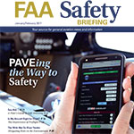 Jan-Feb Issue of FAA Safety Briefing is Available
